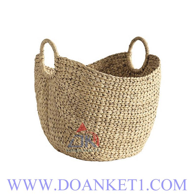 Water Hyacinth Storage Basket # DK394
