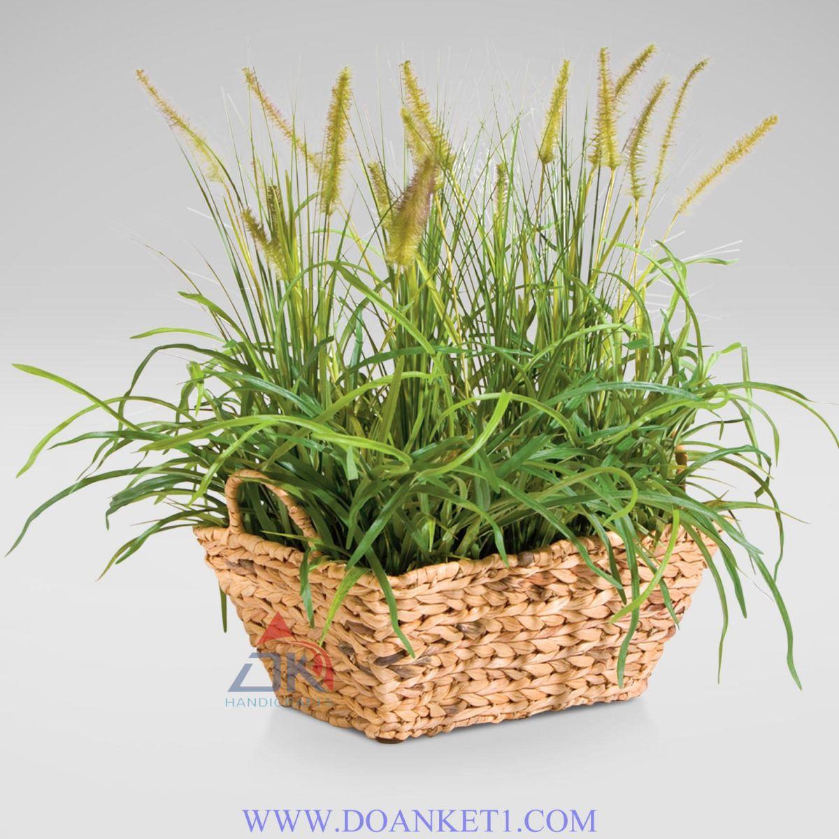 Water Hyacinth Storage Basket # DK396