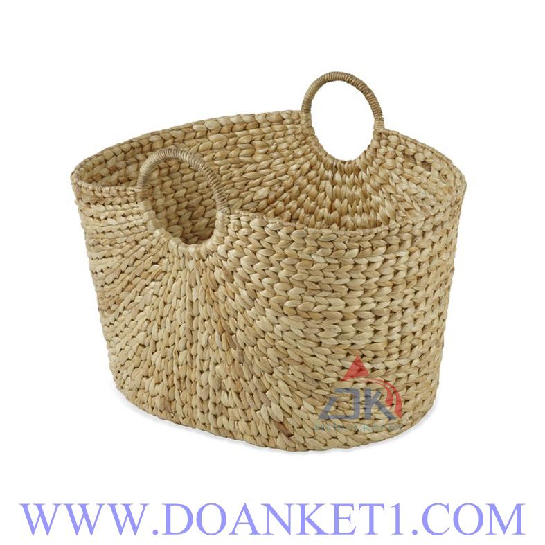 Water Hyacinth Storage Basket # DK403