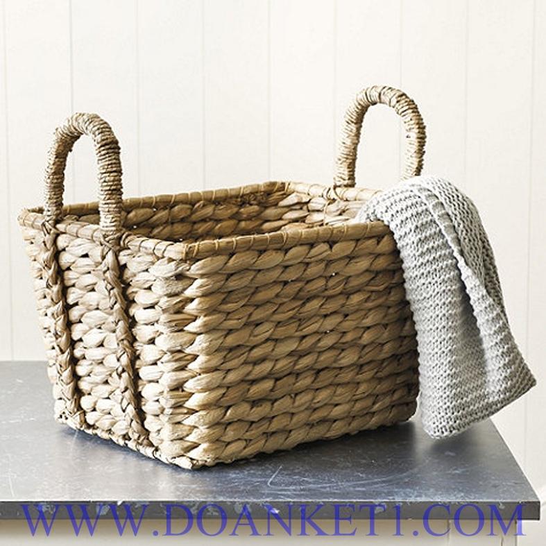 Water Hyacinth Storage Basket # DK405
