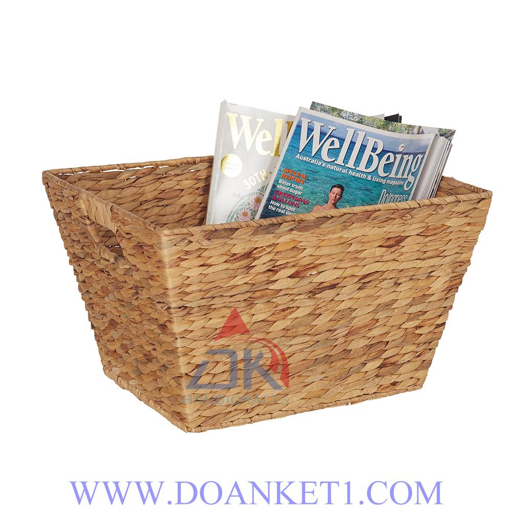 Water Hyacinth Storage Basket # DK420