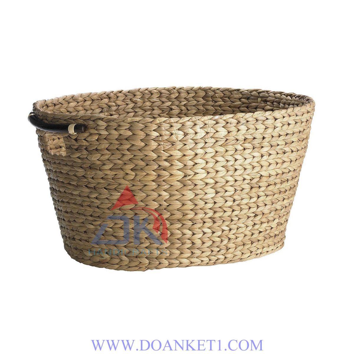 Water Hyacinth Storage Basket # DK422