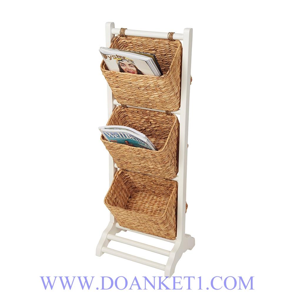 Water Hyacinth Storage Basket # DK424